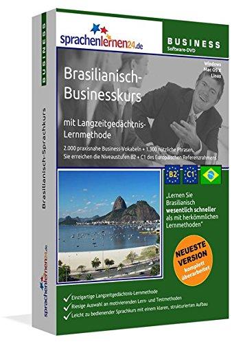 Brasilianisch-Businesskurs mit Langzeitgedächtnis-Lernmethode von Sprachenlernen24: Lernstufen...