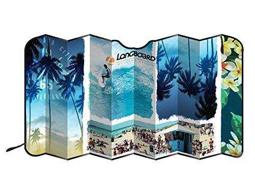Longboard 078082- Parasol Delantero para Coche