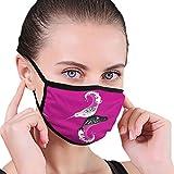 Just Relax Shop Narwhal Dust Gesichtsmaske für Staub-Mundmaske, waschbar und wiederverwendbar, Anti-Staub-Maske