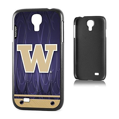 Keyscaper Handy Schutzhülle für Samsung Galaxy S4-Washington Huskies ghost1 Washington Huskies Handy