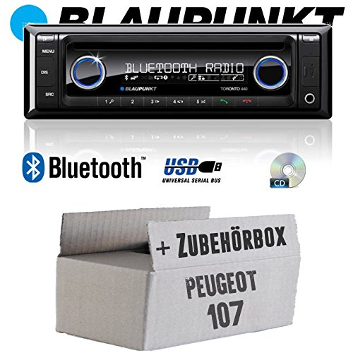 BLAUPUNKT Toronto 440BT - CD | MP3 | USB Autoradio INKL. Bluetooth...
