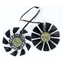 2 Pcs/lot T129215SU 12V 0.5A 5Pin Carte Graphique Fan For ASUS GTX780 GTX780TI R9 280/280X 290/290x GTX970/980 Graphics Card Fan