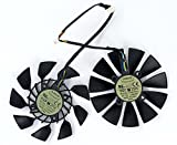 2 Pcs/lot T129215SU 12V 0.5A 5Pin Grafikkartenlüfter For GTX780 GTX780TI R9 280/280X 290/290x GTX970/980 Graphics Card Fan
