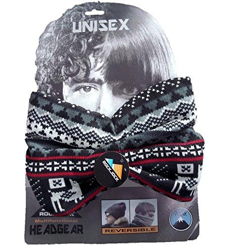 Mens/Ladies RockJock Aztec Design Neck Warmer, Snood, Scarf, Mask, Hat HAI-790
