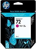 HP 72 Magenta Original Druckerpatrone (69 ml) für HP DesignJet