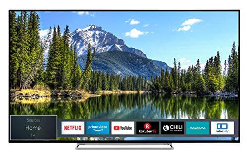 Toshiba 65VL5A63DG 164 cm (65 Zoll) Fernseher (4K Ultra HD, Dolby Vision HDR, Wcg, TRU Picture Engine, Triple Tuner, Smart TV, Sound von Onkyo, Works with Alexa)