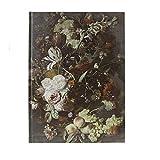 Bloc-Notes Cahier Journal Style Vintage Utilisez Couverture Fleurs Notebook Agenda pour Peinture Couleurs Esquisse Note Planifications Mémo Liste pour Dessin Ecrire Cadeaux