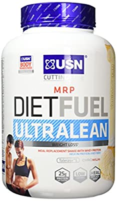 USN Diet Fuel Ultralean Weight Control Meal Replacement Shake