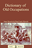 Dictionary of Old Occupations