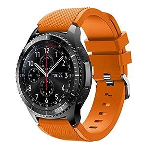 Anjuley Sport-Uhrenarmband aus weichem Silikon