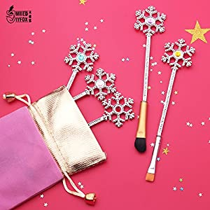 Generic free shipping New design Beauty makeup brushes fashion jewelry cosmetic brush women gift Women' s snow Christmas…