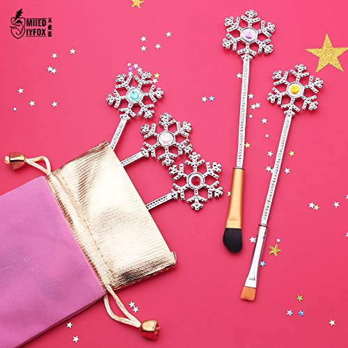 Generic free shipping New design Beauty makeup brushes fashion jewelry cosmetic brush women gift Women39; s snow Christmas gift