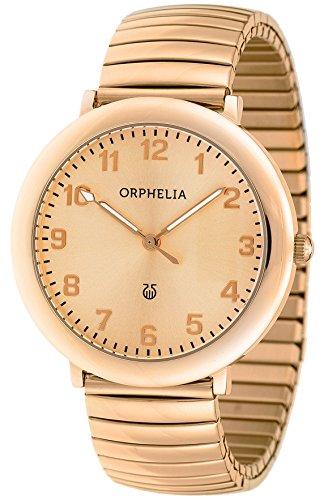 Orphelia - OR53970577 - Montre Femme - Quartz Analogique - Aiguilles lumineuses - Bracelet Acier inoxydable Or et Rose