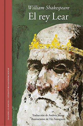 El rey Lear (edición ilustrada y bilingüe) (GRANDES CLASICOS)