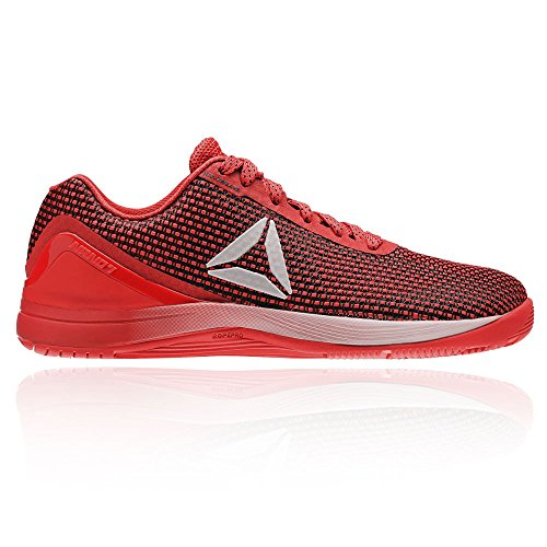 Reebok R Crossfit Nano 7.0, Zapatillas Deportivas para Interior para Hombre, Rojo (Rosso Primal Red/Black/White/Silver), 43 EU