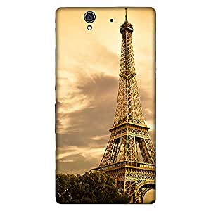 Mobo Monkey Designer Printed Back Case Cover for Sony Xperia Z :: Sony Xperia ZC6603 :: Sony Xperia Z L36h C6602 :: Sony Xperia Z LTE :: Sony Xperia Z HSPA+ (Paris :: France :: Eiffel Tower :: Love :: Couple)