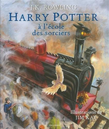 Harry Potter a l'ecole des sorciers, illustre par Jim Kay