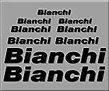 PEGATINAS BIANCHI BIKE R241 VINILO ADESIVI DECAL AUFKLEBER MTB STICKERS BIKE NEGRO