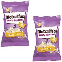 Metcalfe's Palomitas Mezcla Dulce y Salado 25g Pack de 2