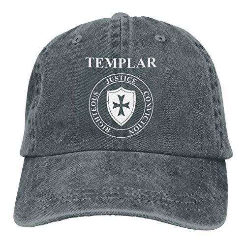 38ca689c36484 Templar Virtues of The Knights Unisex Baseball Cap Cowboy Hat Dad Hats  Trucker Hat ABCDE09502