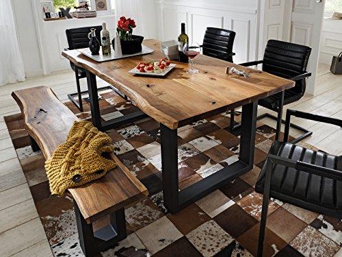 """Esszimmertisch Esstisch Küchentisch Tisch Massivholztisch Holztisch \""""Marry I\"""" (180x77x90 cm)"""