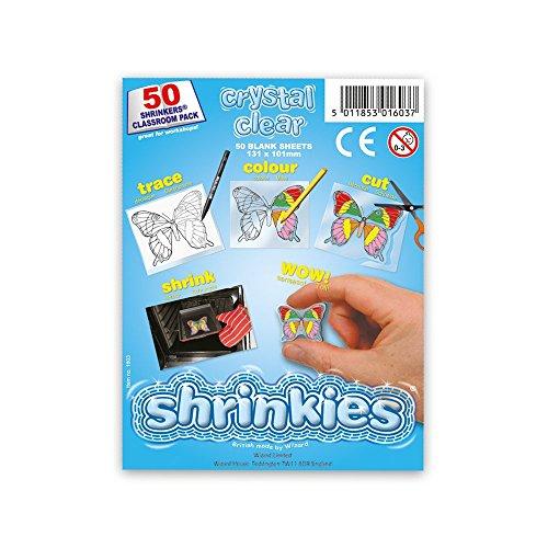 Shrink Art wz624Klassenzimmer Pack, Crystal Clear
