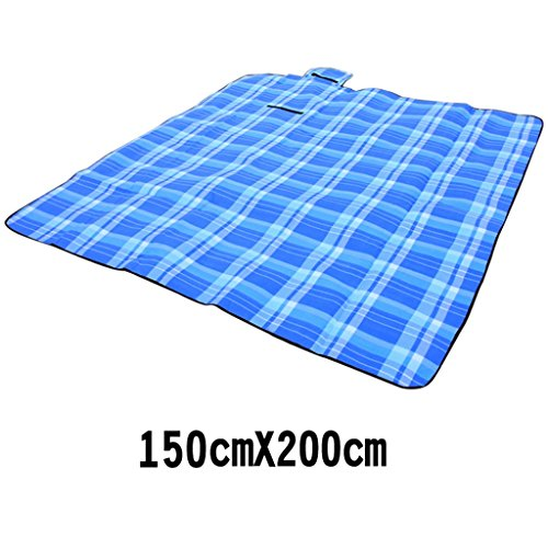 TYJ Picknick-Decken Outdoor Zelt Gras Matten Feld Picknick Feuchtigkeitsbeständig 200 * 150cm ( größe : 150*200cm )