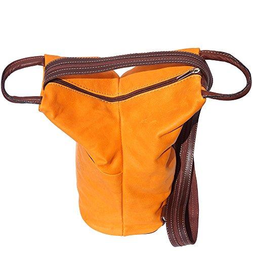 Borsa a zaino 2061 (Arancio-marrone)