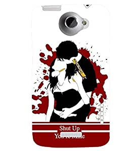 printtech Kill Dil Back Case Cover for HTC One X::HTC One XT::HTC 1X