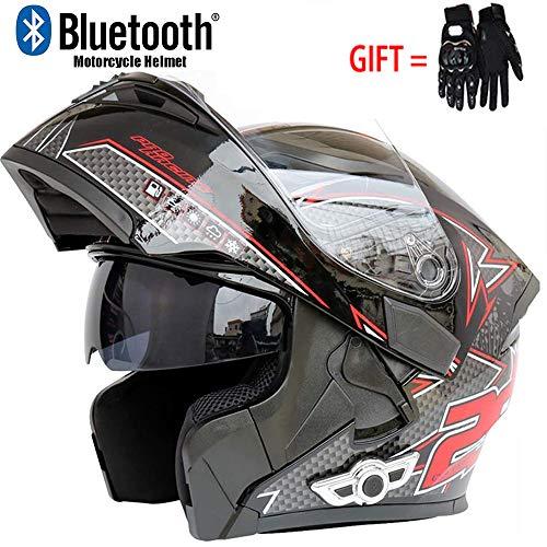 Gedme-helmet Casco de Moto Clamshell