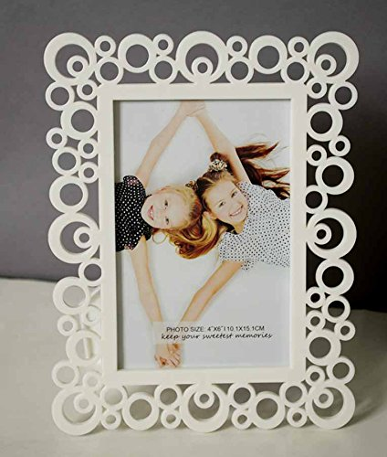 Painting Mantra & Art Street Decoralicious White Designer Circular Motif Photo Frame...