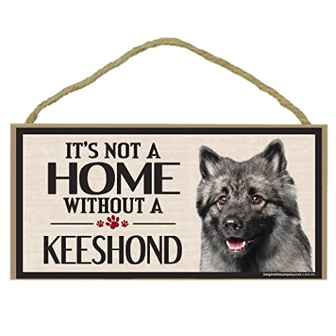 Imagine This Wood Sign for Keeshond Dog Breeds