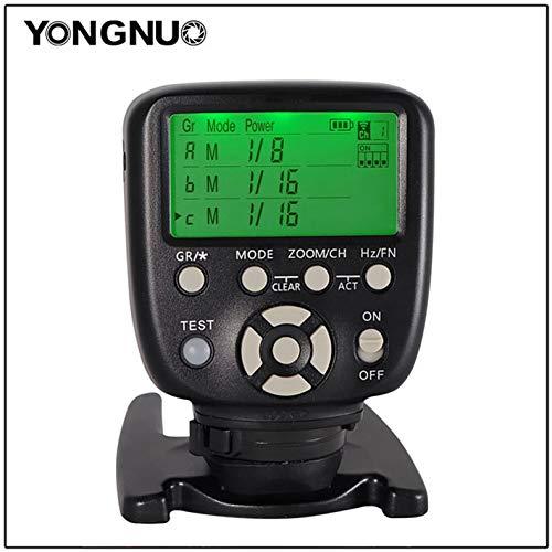 DishyKooker YN560-TX LCD-Auslöser Fernbedienung für NI-kon Can-on YN560-III mit Weckfunktion für NI-kon Can-on Kameras YN560-TX II...