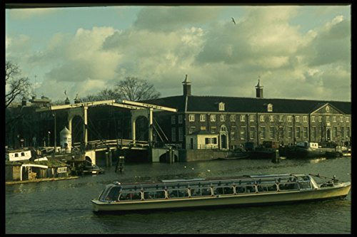 235001-touring-boat-on-the-amstel-amsterdam-a4-photo-poster-print-10x8