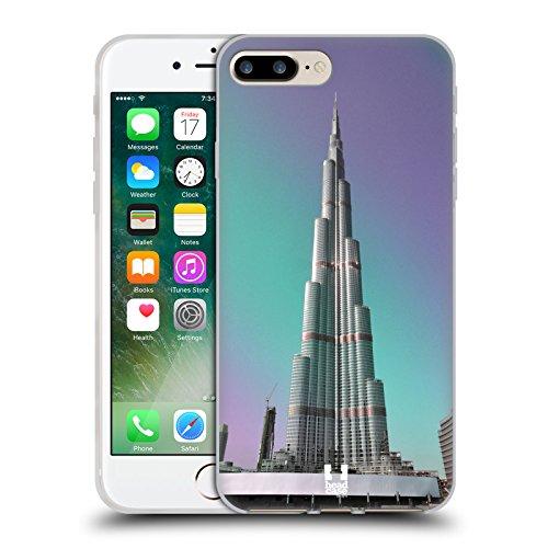 Head Case Designs Big Ben Tour De L'horloge Londres Meilleurs Endroits - Collection 2 Étui Coque en Gel molle pour Apple iPhone 4 / 4S Burj Khalifa Dubai Uae