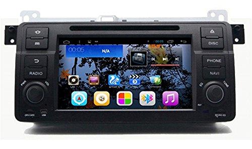 Preisvergleich Produktbild Gowe Android 4.4.4Quad Core 1024* 600GPS Navigation 17,8cm Auto DVD Player für BMW E463Serie mit Bluetooth/RDS/Canbus/SWC/Mirrorlink
