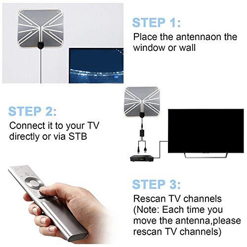 creatspaceDE TY28 verbunden HDTV Innen Digitale TV-Antenne