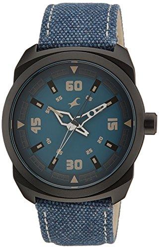 Fastrack OTS Explorer Analog Blue Dial Men's Watch - 9463AL07J image