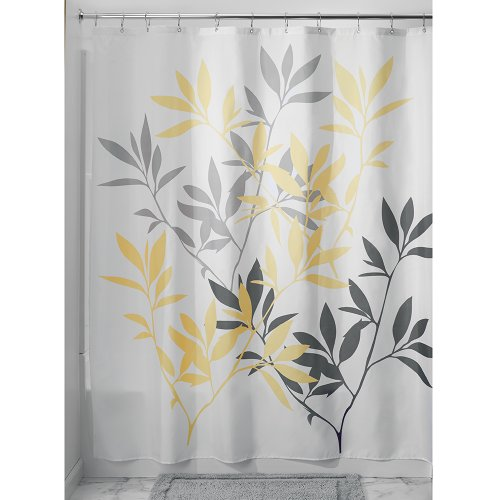 Kitchen Curtains Yellow And Gray: Grey And Yellow Curtains: Amazon.co.uk