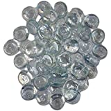 Maalavya 145 Pieces Crystalline And Translucent Shaded Glass Stone For Decorative Aquarium Fish Tank And Substrate Glass Stone Or Pebbles.(translucent Water Glass)
