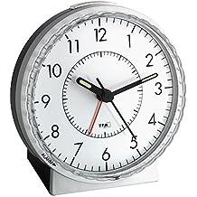 La Crosse Technology 60.1010 Silent Sweep Analog Alarm Clock with Loud Bell Alarm by La Crosse Technology
