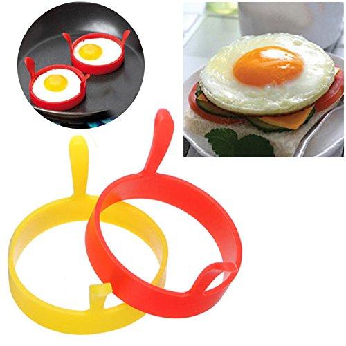 Hengbaixin - Molde redondo silicona huevos panqueques