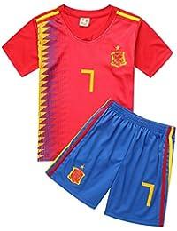 zhuzhuyi Camiseta De Fútbol Camiseta De Fútbol De La Copa Mundial Jersey De Algodón para Niños Ropa De Entrenamiento Bebé De Los…
