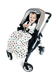 Slumbersac Travel Baby Sleeping Bag 2.5 Tog - Bubble Dot - 12-36 months/110cm