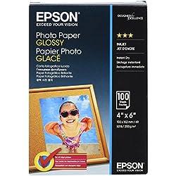 Epson Photo papier 10 x 15 cm 100 feuilles 200 g/m² Brillant
