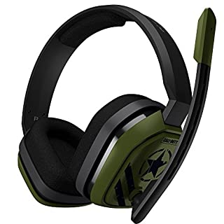 ASTRO Gaming A10 Call Of Duty Edition Headset (kabelgebunden, kompatibel mit PlayStation 4, Xbox One, PC, Mac) grün/schwarz