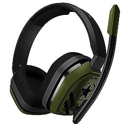 ASTRO Gaming A10 Call Of Duty Edition Headset (kabelgebunden, kompatibel mit PlayStation 4, Xbox One, PC, Mac, Nintendo Switch) grün/schwarz