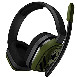 ASTRO Gaming A10 Call Of Duty Edition Headset (kabelgebunden, kompatibel mit PlayStation 4, Xbox One, PC, Mac) grün/schwarz