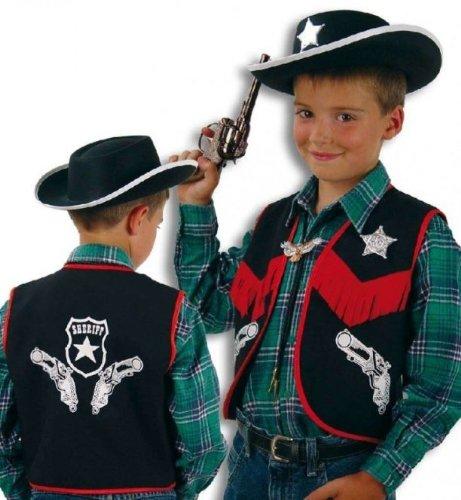 Cowboy Weste Kinder Kostüm Gr (N Ideen Kostüm Party)