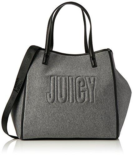 Juicy by Juicy Couture Damen Arlington Tote, Grau (Grey Marl), 22x33x34 cm (Couture Tasche Juicy)